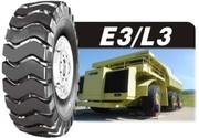 Шины для спецтехники 23.5-25,  сл. 20,  24 PR,  модель E3/L3,  L3 из КНР