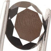 Черный  бриллиант --1.95 карат.