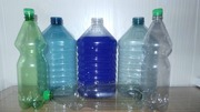 5 литровая бутылка,  крышка,  ручка (комплект).