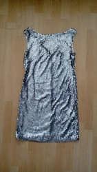 Вечернее платье из пайеток