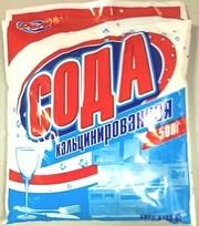 Продам кальцинированную соду   500г 114т .Россия