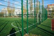 Металлические ограждения для футбольных полей